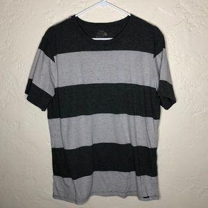 Men striped short sleeve t shirt
